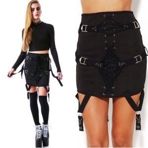 NWT UNIF Garter Skirt